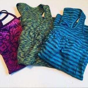 3 Athleta Workout Top Bundle